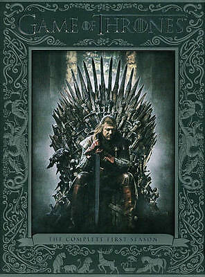 DVD GAME OF THRONES  The Complete First Season (DVD, 5-Disc Set)  NEW Not Opened