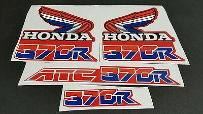 1986 86 HONDA ATC 350X  DECALS GRAPHICS STICKER EMBLEM FITS 85 1985 ALSO FENDERS