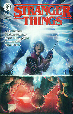 Stranger Things #1 Jody Houser Stefano Martino Briclot Variant Cover A NM/M 2018