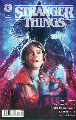 Stranger Things #1 Jody Houser Stefano Martino Variant Cover C Netflix NM/M 2018