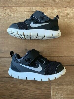 95341e3553804 NIKE FREE 5.0 Toddler Girls Pink Black White Shoes Sneakers ~ SIZE ...