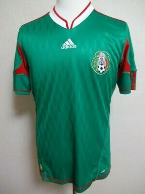 ae7531af4fd Mexico 100% Original Soccer Football Jersey Shirt M 2010 World Cup Home