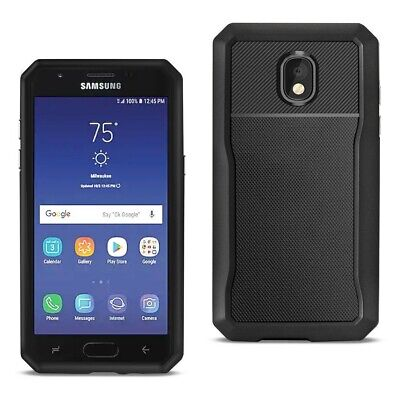 Reiko SAMSUNG GALAXY J3 (2018) Full Coverage Shockproof Case In Black