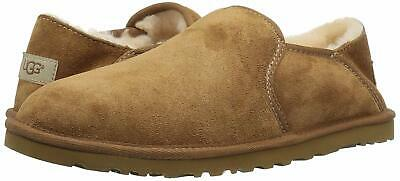 d028e626d3f UGG MEN'S KENTON 3010 Sheepskin Black & Chocolate Brown slipper ...