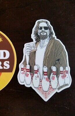 Tyler Stout The Big Lebowski Sticker This Is A Private Residence