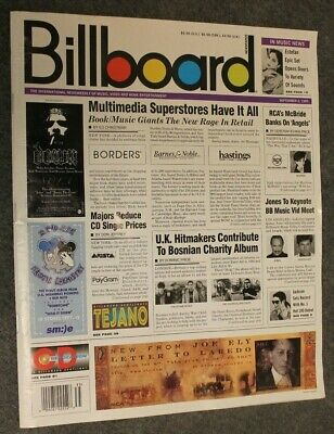 Billboard Magazine September 2, 1995 - Travis Tritt Ad Borders Barnes Noble