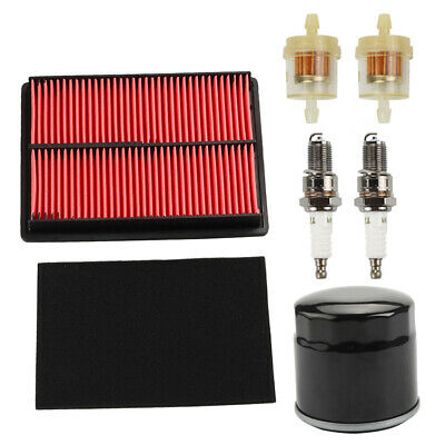Oil Air filter For Honda GXV610 GXV620 GXV670 24 HP V-Twin Engine Spark Plugs