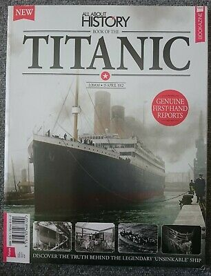Book of the TITANIC All About History bookazine future sixth edition