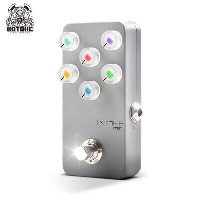 Hotone Reverb Chorus Multi Effects Pedal Xtomp Mini of Distortion Overdrive XP20