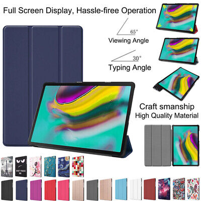 For Samsung Galaxy Tab S5e 10.5 2019 T720 T725 Tablet Auto Smart Case Cover Slim