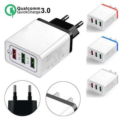QC 3.0 Fast Quick Charge USB 3 Ports Hub Wall Charger Power Adapter