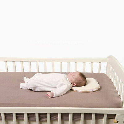 Newborn Infant Baby Anti-roll Pillow Sleeping Prevent Flat Head and Neck Support