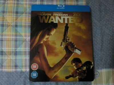 Blu-Ray Wanted - Audio Ita - Steelbook