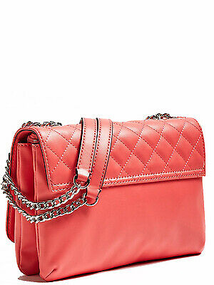 21f357a2dc Guess - Sac porté travers Guess ref_guess45757 Corail 26*20*4 - Neuf