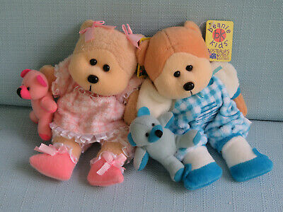 Beanie Kids - Toddle The Bear & Tot The Bear Bk 422 423 Boy Girl Plush Gift Baby