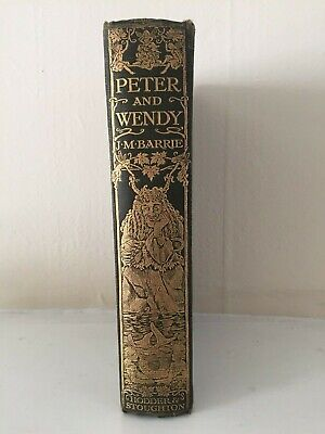 J.M. Barrie – Peter and Wendy – First UK Edition 1911 - 1st Book