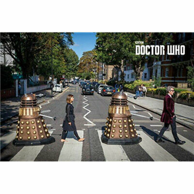 Doctor Who - Abbey Road - POSTER 61x91cm NEW Daleks Twelfth Doctor Clara Oswald