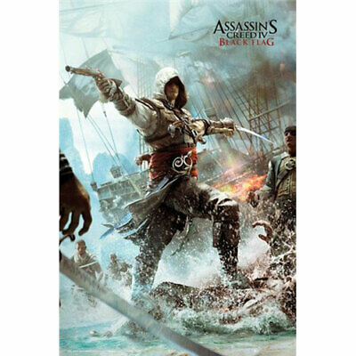 Assassins Creed 4 - Edward - Black Flag - POSTER 61x91cm NEW officially licensed