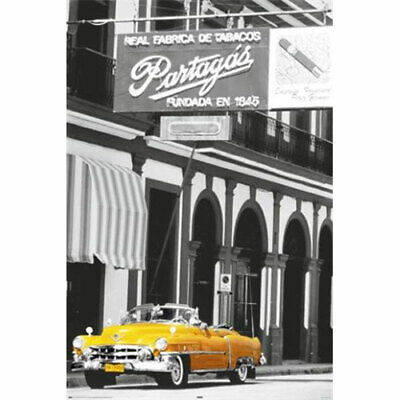 Cuba - Car And Cigar - POSTER 61x91cm NEW