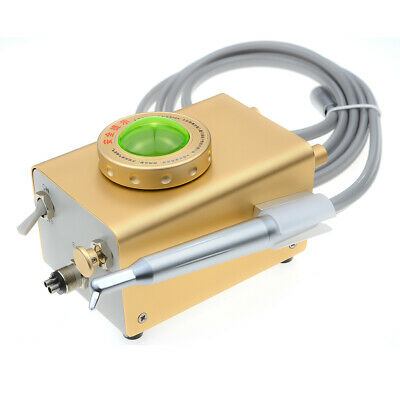Dental Airflow Teeth Cleaning Polishing Sandblasting Sandblaster Machine 4 Hole