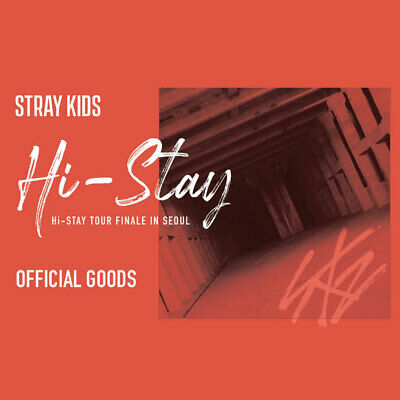 STRAY KIDS HI-STAY TOUR FINALE IN SEOUL OFFICIAL GOODS + Tracking Number