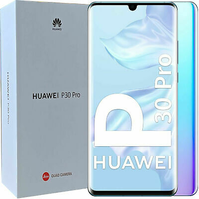 BNIB Huawei P30 PRO Single-SIM 128GB Crystal Factory Unlocked 4G/LTE SIMFree