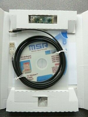 MSR 145 data logger, research/academic grade,  software + original box