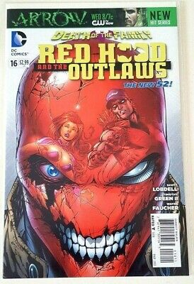 Red Hood and the Outlaws Issue 16 New 52 First Print NM