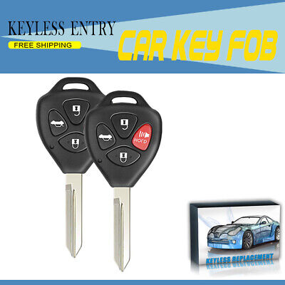 2x OEM HYQ12BBY FOR 2007-2010 Toyota Camry Remote Keyless Entry Key Fob 4 Button