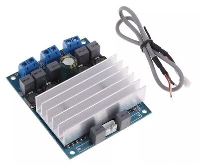 TDA7492 D Class 2x 50W High-Power Digital Amplifier AMP Heatsink Module +Wire