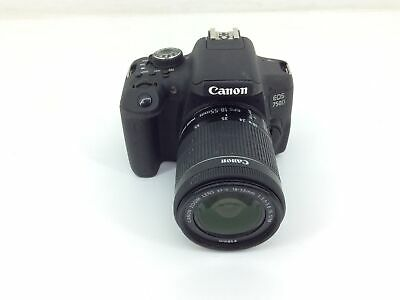 Camara Digital Reflex Canon Eos 750D+Ef-S 18-55Mm 1:3.5-5.6 Is Stm 4659079