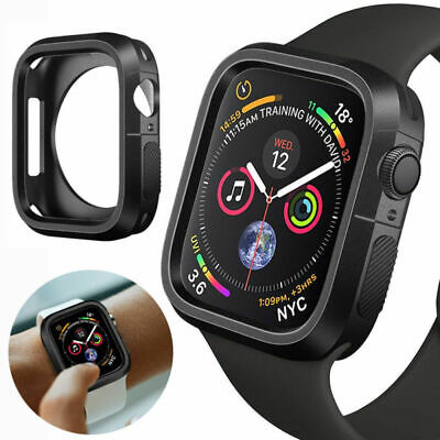 For Apple Watch Series4/3/2/1 Silicone anti-caduta Cover Custodia 38/40/42/44mm