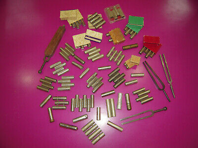INTERESTING Lot of Old Metal TUNER (French +) for violin, etc....