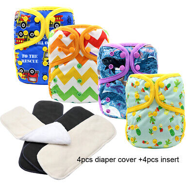 MABOJ Beautiful Cloth Diapers and Inserts Washable Washable Covers for Babies