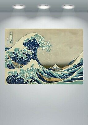 The Great Wave off Kanagawa Poster Art Print in multiple sizes