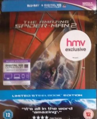 The Amazing Spider-man 2 ( Blu-ray ) - HMV Exclusive SteelBook. New & sealed