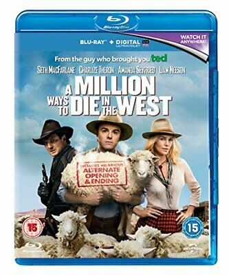 A Million Ways to Die in the West [Blu-ray] [Region Free] By Liam Neeson,Aman.