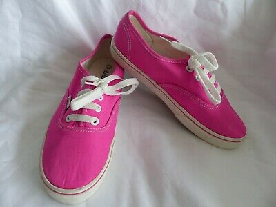 Andy-z Canvas shoes pink Size 4 girls , ladies(EURO 37)
