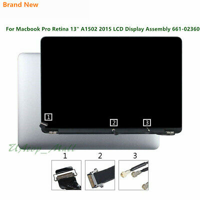 "MacBook Pro Retina 13"" A1502 Early 2015 EMC2835 LCD Display Screen Full Assembly"