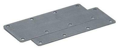 Trailer Parts - 8 Hole Suspension Mounting Plate Kit: 500kg & 550kg units