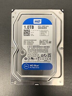 1to WD Blue HDD Disques Dur 1to SATA 3, Comme Neuf