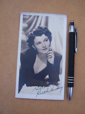 Ruth Hussey   Autograph Signature ( code J21 )  please scroll down