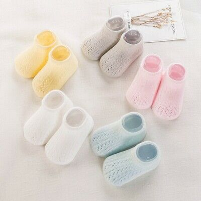 1 Pairs Baby Socks Soft Anti-Skid Newborn Ankle Socks Infant Socks Four Seasons