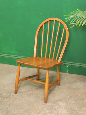 Low Ercol Windsor Chair, Dining, Lounge, Bedroom, Kitchen, Nursery Vintage Retro