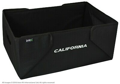 VW T6,T5 California INKA Tidy Storage Box Boot Organiser With Embroidery