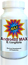 Andro400 Max - 6 Bottles (6 Month Supply) - Guaranteed Manufacture Direct