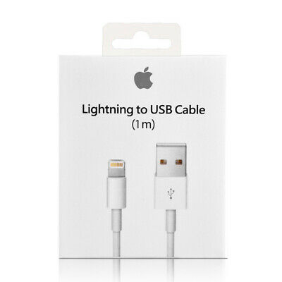 OEM Original OEM Apple iPhone X 8 7 6S plus 5 Lightning USB Cable Charger 1M/3FT