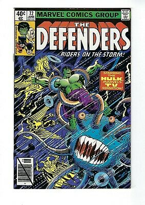 DEFENDERS # 72 (Cents Issue, JUNE 1979), VF/NM