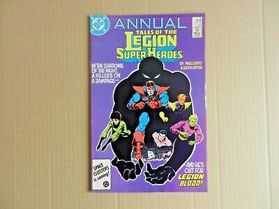 Tales of the Legion of Super-heroes Annual #4 (1986) [DC Comics]