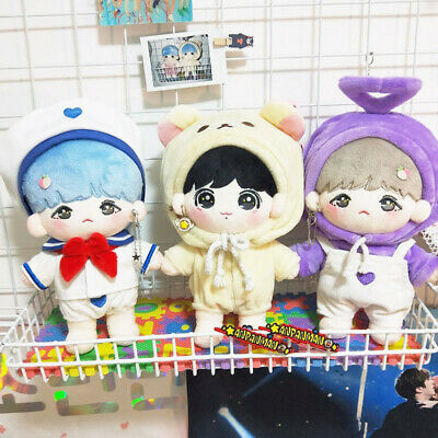 KPOP EXO BTS JIMIN JUNGKOOK SUGA Doll's Clothes Coverall Sailor Suits【no doll】